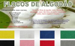 FLOCOS DE ALGODÃO